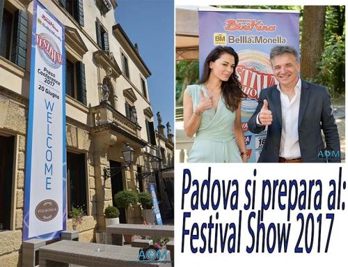 Padova: Presentazione FESTIVAL SHOW 2017