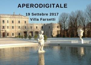 19 Settembre: Aperodigitale in Villa Farsetti