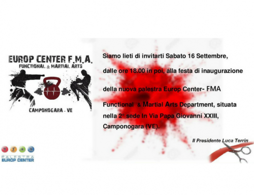 Grand Opening Europ Center FMA Functional & Martial Arts Department!
