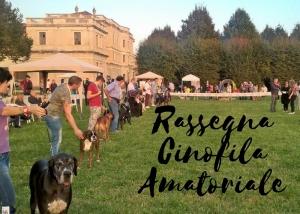 Rassegna Cinofila Amatoriale a Villa Farsetti