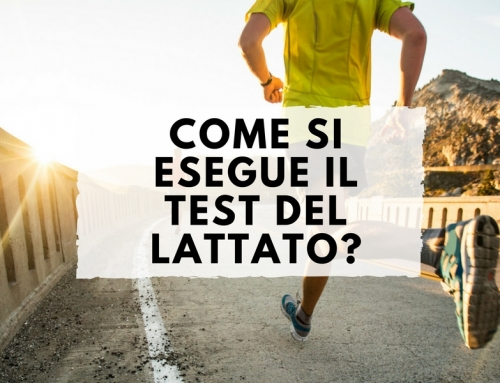 Come si esegue il test del lattato?
