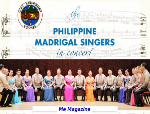 The Philippine Madrigal Singers in Concerto.