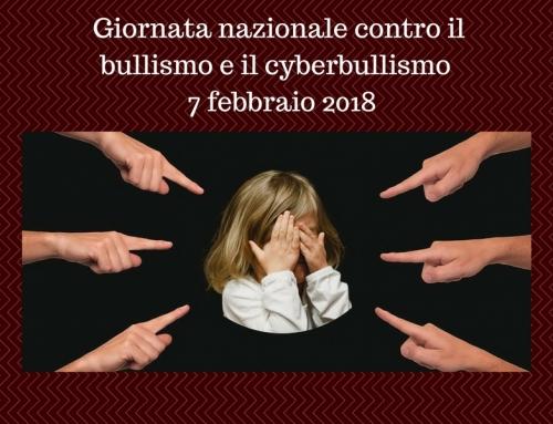 Giornata nazionale contro il bullismo e il cyberbullismo – 7 febbraio