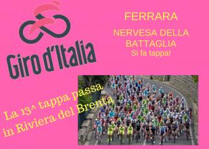 """Turismo 10: Il """"Giro d'Italia"""" in Riviera del Brenta"""