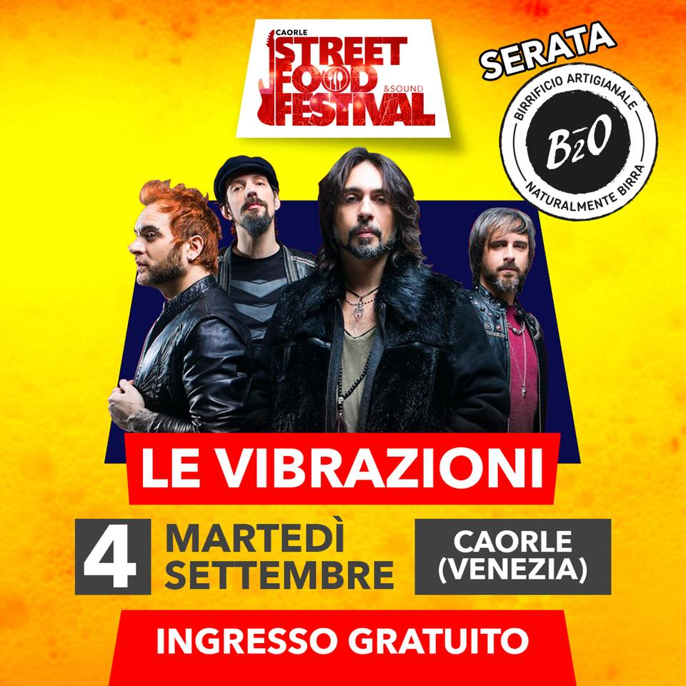 Le Vibrazioni Street Food & Sound Festival
