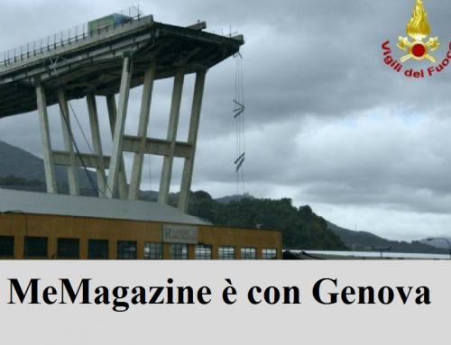 MeMagazine è con Genova