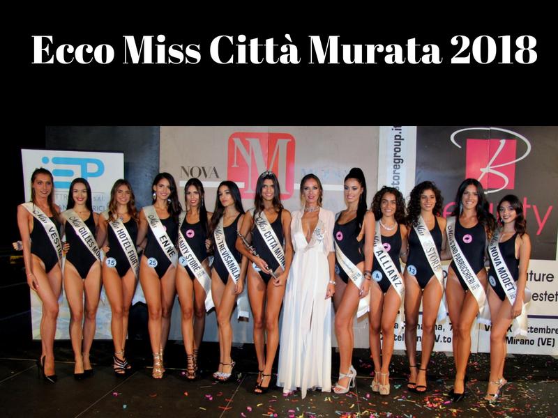 Miss Città Murata 2018