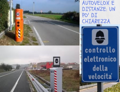Autovelox e distanze: un po' di chiarezza!!!