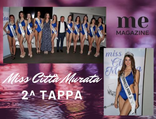 Serena Rossi vince la seconda tappa di Miss Città Murata 2019 – Terrazza Roma Castelfranco V.to.