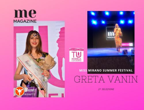 Miss Mirano Summer Festival 2^ selezione: vince Greta, quattordicenne di Treviso.