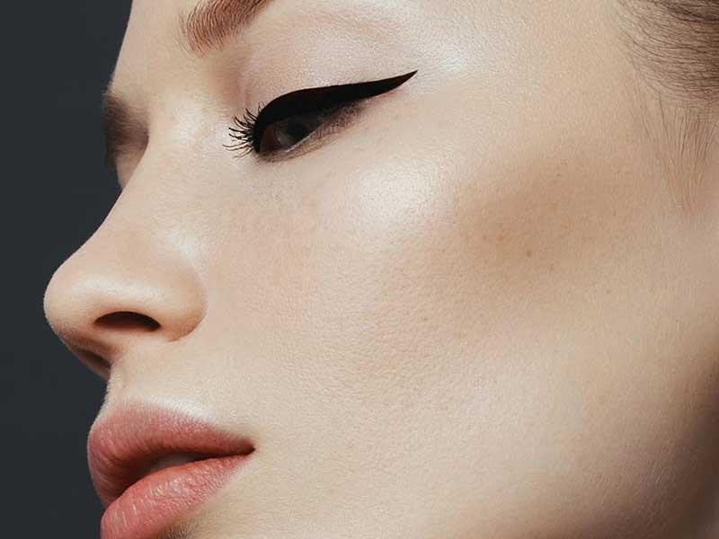 Eyeliner opaco applicazione