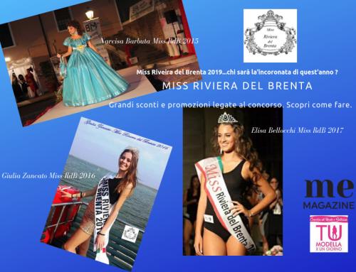AAA…Miss Riviera del Brenta cercasi. Sconti e promozioni legate al concorso. Scopri come fare…